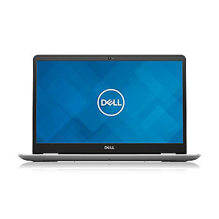 "Dell Inspiron 5584 15.6"" Full HD Laptop, Intel Core i7-8565U Processor, Intel UHD 620 Graphics, 8GB Memory, 256GB SSD, Backlit Keyboard, Fingerprint Reader, Windows 10 Home, Silver"