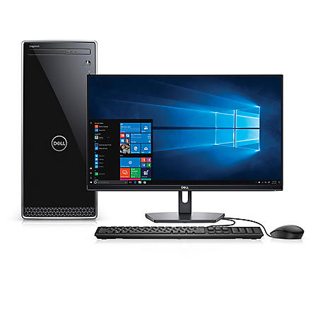 Dell Inspiron 3670 Desktop Bundle, Intel Core i5-8400 ...