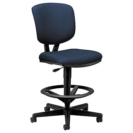 HON - Volt Series Adjustable Task Stool - Navy Fabric