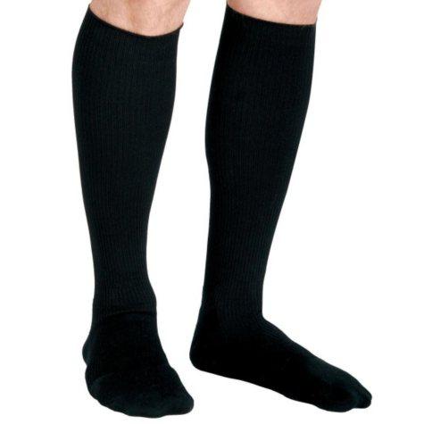 Curad Compression Dress Socks, 8-15 mmHg, Black, Medium