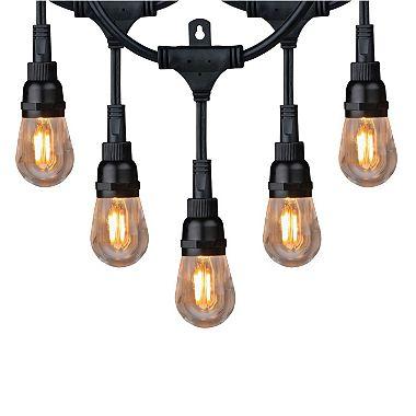 honeywell 36 commercial grade led indoor outdoor string lights