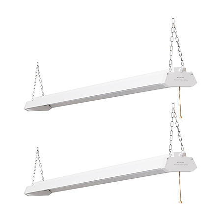 Honeywell LED 4' Linkable Multi-Mode Shop Lights (2 pk., White)