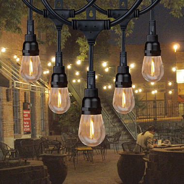 Honeywell 36\' Commercial-Grade LED Indoor/Outdoor String Lights ...