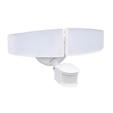 Honeywell 3000 Lumen Dual Head Security Flood Light with Motion Sensor
