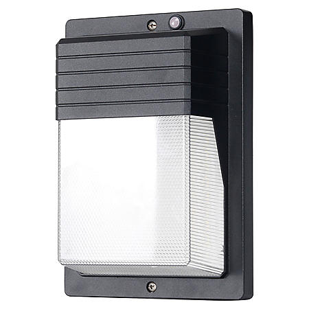 Honeywell 4000 Lumen LED Rectangular Wall Pack Security Light