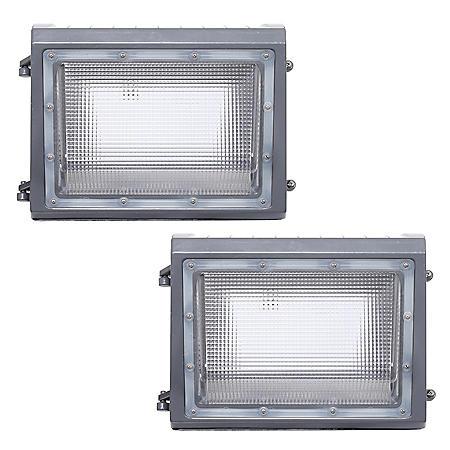 Honeywell 6000 Lumen LED Wall Pack Security Light (2-pack)