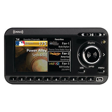 Sirius XM XpressRCi Dock & Play Radio w/ Vehicle Kit