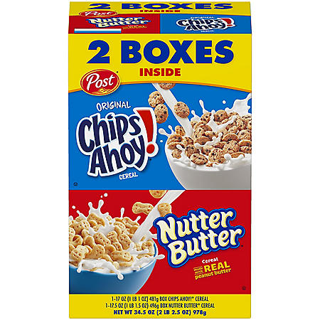 Post Chips Ahoy and Nutter Butter Variety Pack (34.5 oz., 2 pk.)