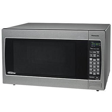 Panasonic Prestige 2.2 cu. ft. 1250 Watt Countertop Microwave - Stainless