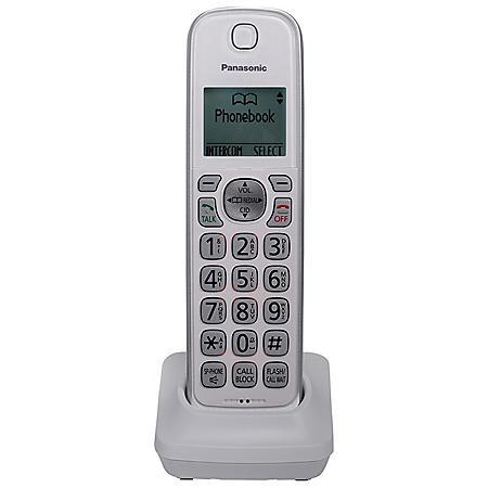 Panasonic KX-TGDA50W1 DECT 6.0 Additional Cordless Handset for KX-TG833SK1 (White)