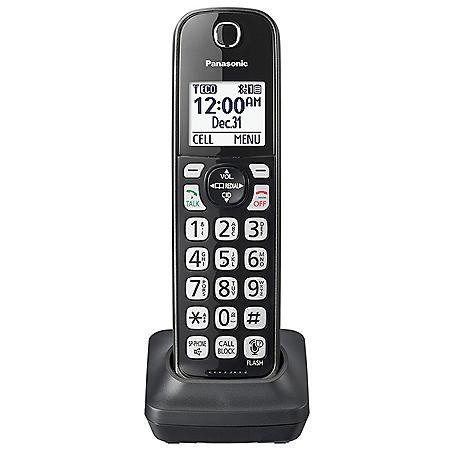Panasonic KX-TGDA51M DECT 6.0 Additional Cordless Handset for KX-TG744SK1 (Black)