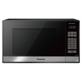 Panasonic 0.9-cu. ft. Stainless-Steel Microwave Oven with Genius Sensor