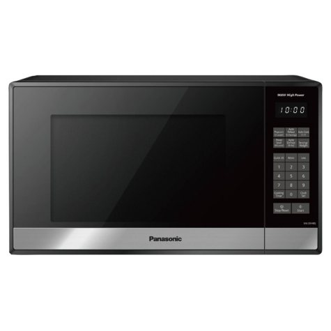 Panasonic 0.9 cu. ft. Stainless-Steel Microwave Oven with Genius Sensor
