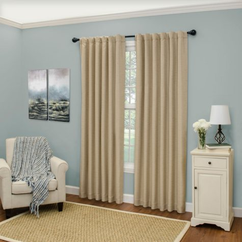 Eclipse Cromwell Thermaweave Blackout Window Curtain (Assorted Sizes)