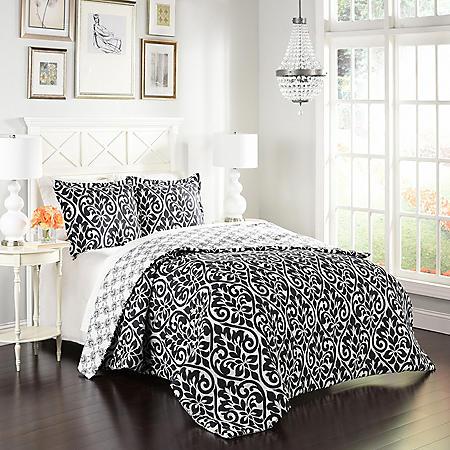 Marble Hill Hadley Reversible Comforter Set Sam S Club