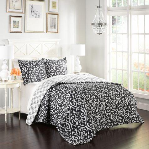Marble Hill Hadley Reversible Comforter Set