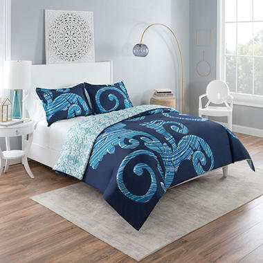 Vue Zendaya Reversible Comforter Set (Assorted Sizes)