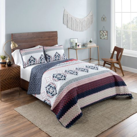 Vue Gypsy Reversible Quilt Set (Assorted Sizes)