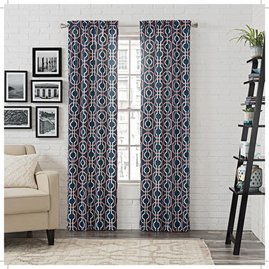 Pairs to Go Arlene Window Curtains, 2-pack