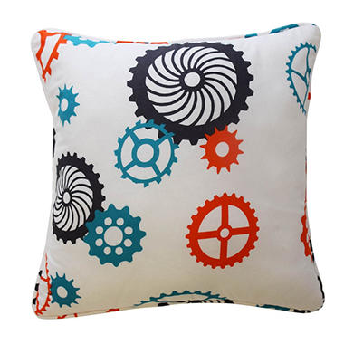 Waverly Kids Robotic Decorative Accessory Pillow, 15