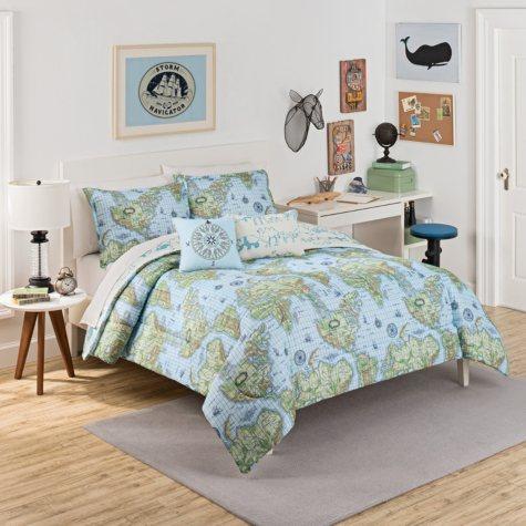 Waverly Kids Buon Viaggio Reversible Bedding Collection