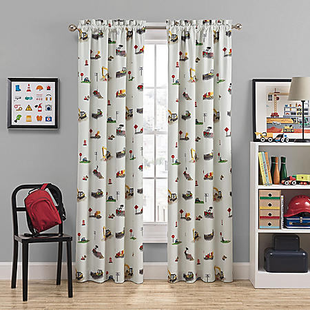 Waverly Kids Can You Dig It Blackout Window Curtain