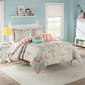 Waverly Kids Wild Card Reversible Bedding Set