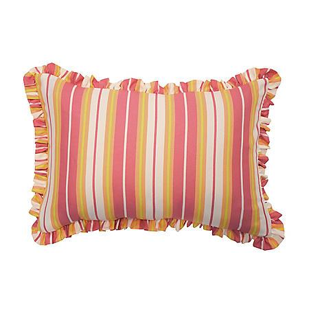 "Waverly Kids Wild Card Oblong Decorative Accessory Pillow, 12"" x 18"""