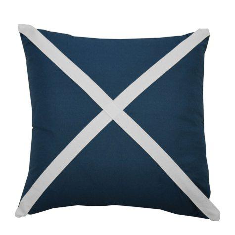 """Waverly Kids Set Sail Applique Decorative Accessory Pillow, 16"""" x 16"""""""