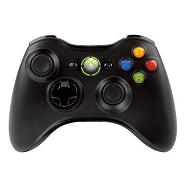 Microsoft Wireless Controller for the Xbox 360 - Black