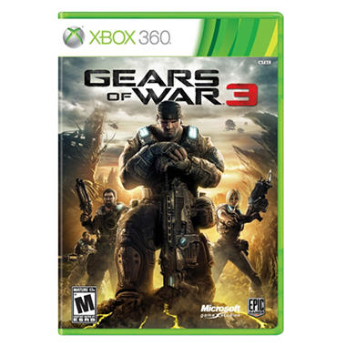 360 GEARS OF WAR 3 STREET DATE 9/20/11