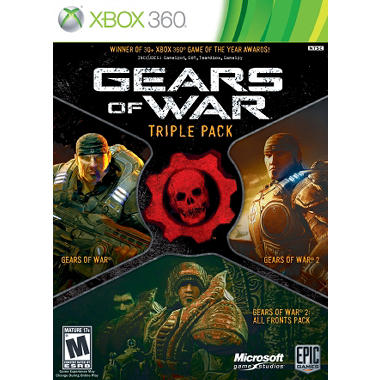 Gears of War Triple Pack - Xbox 360