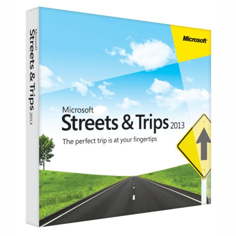 Microsoft Streets & Trips 2013