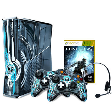 Halo 4 Limited Edition Xbox 360 320GB Console Bundle