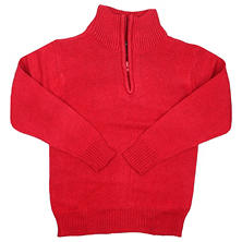 Eddie Bauer Boys' 1/4 Zip Sweater