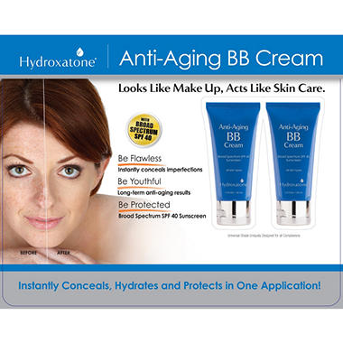 Hydroxatone Anti-Aging BB Cream (1.5 fl oz., 2 pk.)