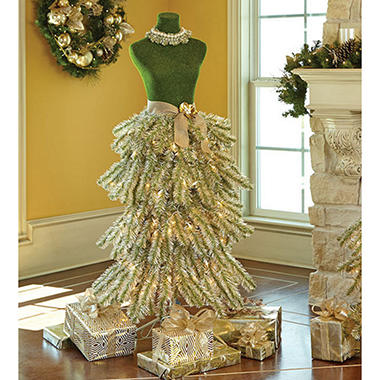 members mark premium 5 dress form tree champagne