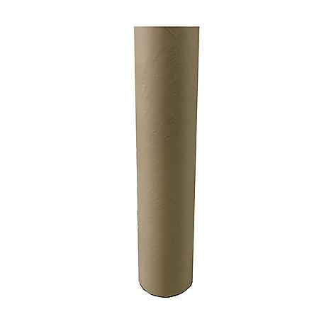 School Smart Heavy Weight Kraft Paper Roll, 50 Pound, 48 Inches X 1000 Feet, Brown