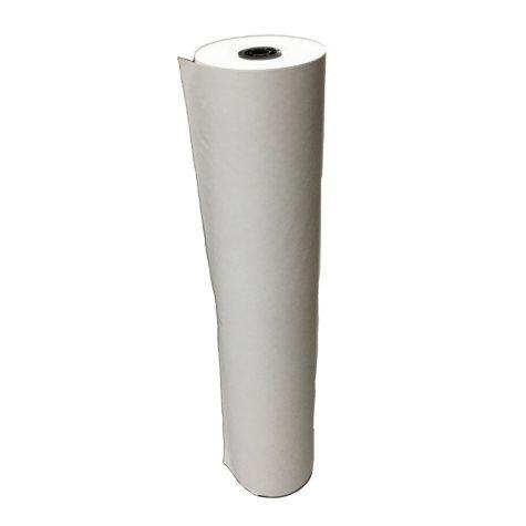School Smart Butcher Paper Roll, 40 Pound, 36 Inches X 1000 Feet, White