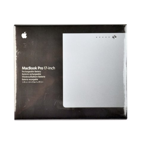 "Apple Rechargeable Battery for 17"" MacBook Pro"