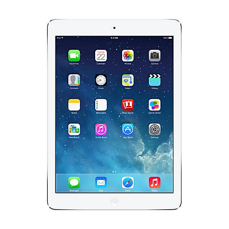 iPad Air Silver 128GB w/ Wi-Fi + Cellular - AT&T