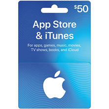 $50 App Store & iTunes Gift Card