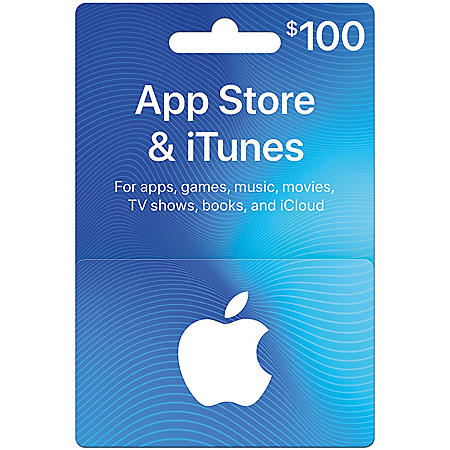 $100 App Store & iTunes Gift Card