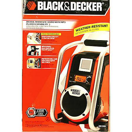 Black & Decker Digital Worksite Radio