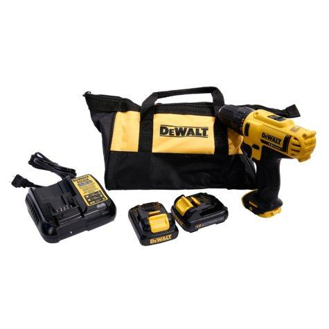 """DeWalt 12 Volt Max 3/8"""" Drill/Driver Kit"""