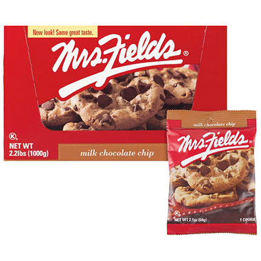 Mrs. Field's Milk Chocolate Chip Cookies - 20 ct.