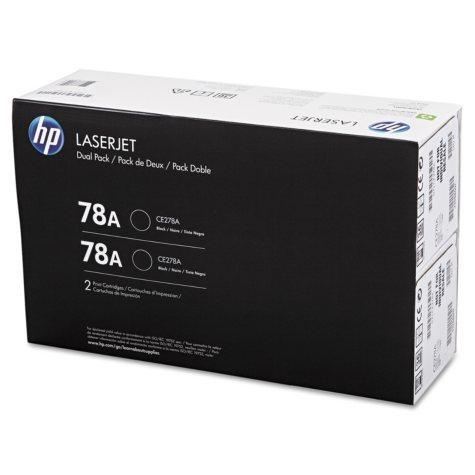 HP 78A Original Laser Jet Toner Cartridge, Black (2,100 Page Yield)