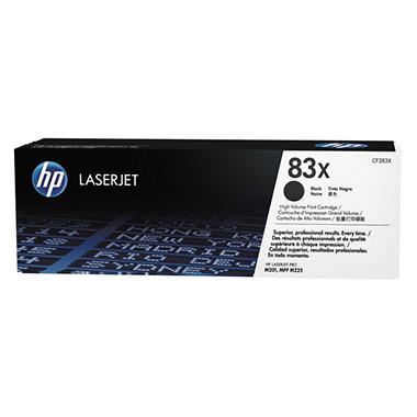 HP 83X Original Laser Jet Toner Cartridge, Black (2,200 Page High Yield)
