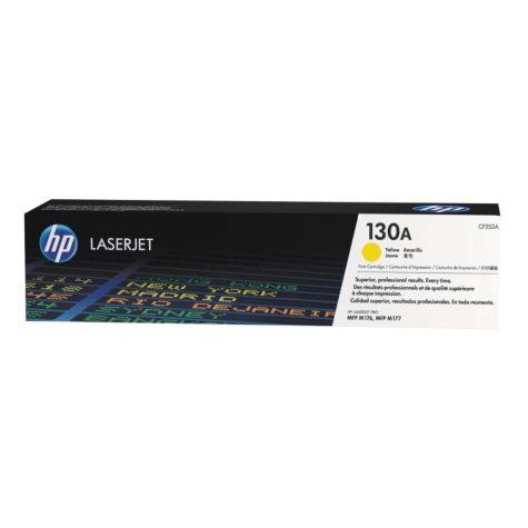 HP 130A Original Laser Jet Toner Cartridge, Yellow (1,000 Page Yield)