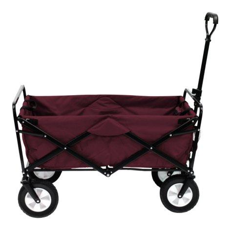 Maroon Folding Wagon